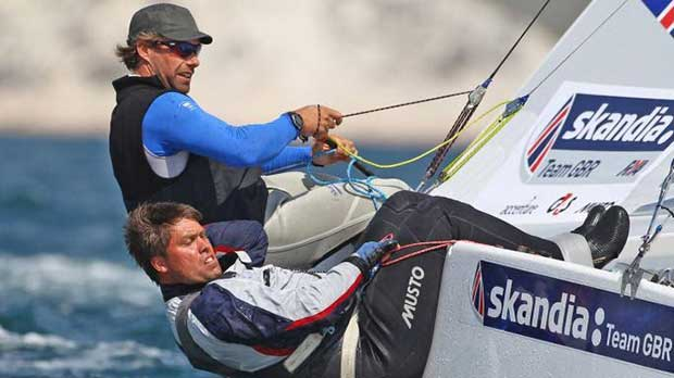 British Olympic champion Iain Percy © Star Sailors League