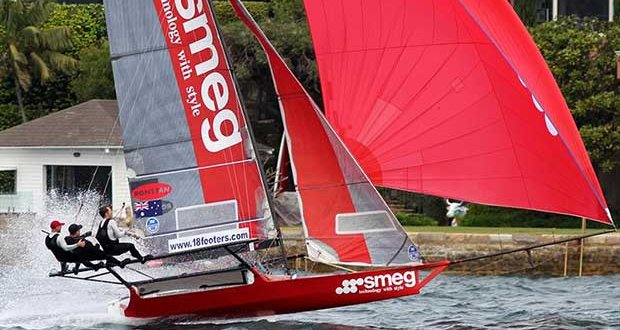 Lee Knapton and the 2016 Giltinan Championship-winning Smeg © Frank Quealey