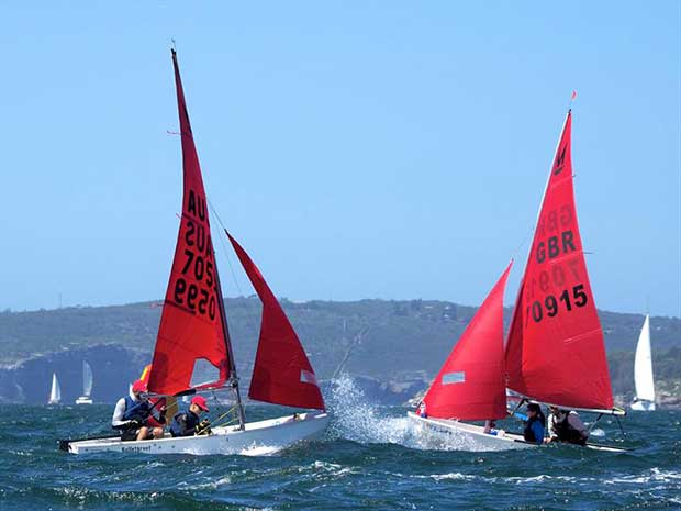 53rd Australian Mirror Nationals and 2019 Pre-Worlds in Sydney - photo © Robert Owe-Young