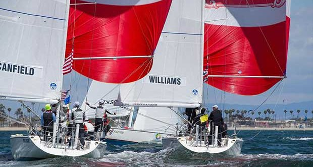 """Conner used to refer to the Match Racing circuit as the """"Junior League. The test for the young Stars & Stripes team will be how well they step up into the Heavyweight Division - photo © Sharon Green / ULTIMATE SAILING"""