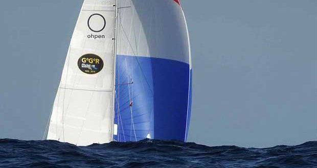 Rolling round the Horn. 2nd placed Mark Slats light winds and 6m seas as he rounded up into the Atlantic on Saturday - Golden Globe Race © Tapio Lehtinen / PPL / GGR