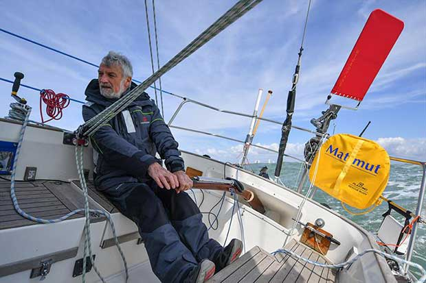 Jean-Luc Van Den Heede predicts a Jan 23 finish - Golden Globe Race © Christophe Favreau / GGR / PPL