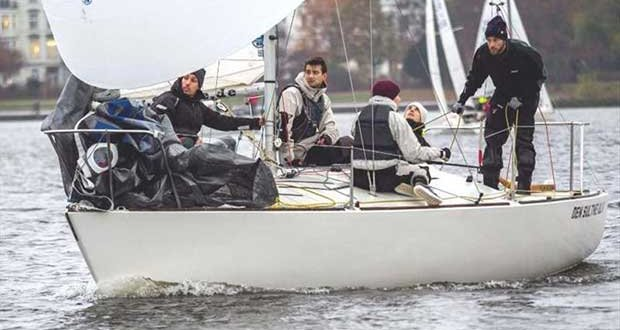 The winner of the J24 was the highly concentrated team around Fabian Damm - Väter­chen Frost Regatta - photo © Johann Nikolaus Andreae