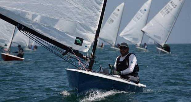 Mark Jackson, second overall - Australian OK Dinghy Nationals, Final Day - photo © Lara Blasse