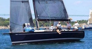 It's a Swan takeover in the IRC division so far with Ed Whitmore's Swan 45, Ticket to Ride, joining the fleet - Block Island Race Week © Storm Trysail Club
