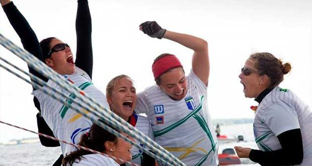 Brazil win the women's ISAF Nations Cup 2013 - photo © ISAF Nations Cup 2013