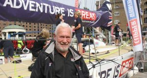 Sir Robin Knox-Johnston ahead of the Clipper Round the World Yacht Race 2015-16 © Mark Jardine