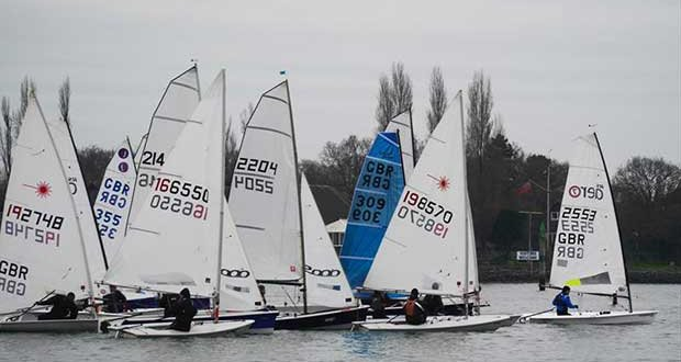 Chichester Yacht Club Snowflake Series day 1 © Mark Green