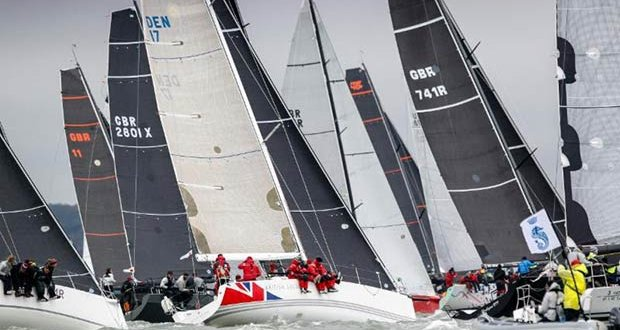 Racing rules are relaxed to allow coaching during the RORC season opener, taking place on the Solent over Easter - RORC Easter Challenge © Paul Wyeth