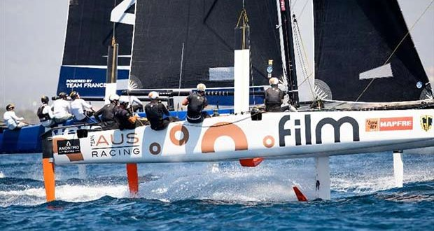 GC32 International Class Association President Simon Delzoppo's .film Racing. - photo © Sailing Energy / GC32 Racing Tour