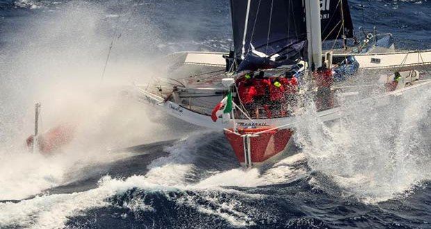 Giovanni Soldini's Multi 70 Maserati (ITA) is hot favourite for Multihull Line Honours in the RORC Caribbean 600 - photo © Guilain Grenier / www.Martin-Raget.com