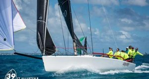 Esse 850 boat at 39th St. Maarten Heineken Regatta, Day 2 © Laurens Morel