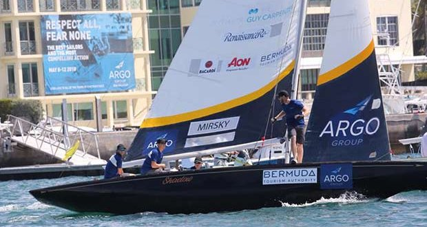 Australian skipper Torvar Mirsky returns for his fifth Argo Group Gold Cup and looking to improve on last year's third-place finish. Mirsky won the Argo Group Gold Cup in 2011 © Charles Anderson