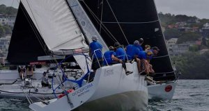 Good Form and Edake on day 1 of the Farr 40 Australian Open Series National Championship - photo © Tilly Lock