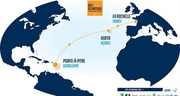 Good start for 2nd leg from Horta to La Rochelle - 2019 Défi Atlantique Guadeloupe © Event Media