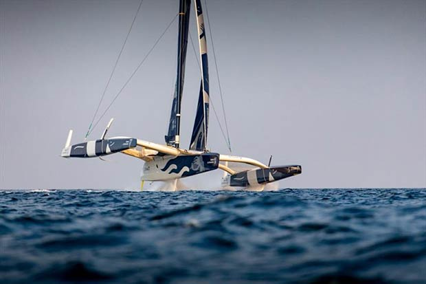 BI Maxi Edmond de Rothschild - photo © Eloi Stichelbaut / Gitana SA