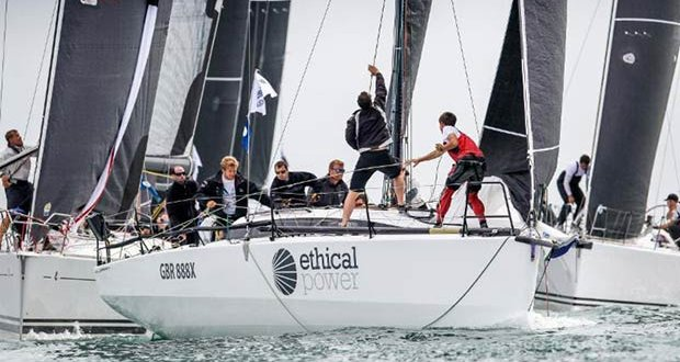 Nine Performance 40s are currently entered and include Tom Kneen's JPK 1180 Sunrise - RORC Easter Challenge © Paul Wyeth / www.pwpictures.com