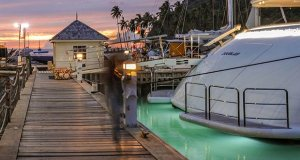 Marigot Bay Marina, St. Lucia / https://www.marigotbayresort.com