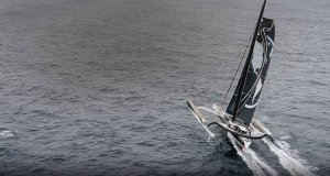 pindrift 2 - Jules Verne Trophy record attempt
