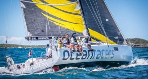 Morgen Watson and Meg Reilly's Pogo 12.50 from Canada took third place in CSA - 2019 Antigua Bermuda Race - photo © Tobias Stoerkle