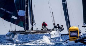 Team Oman Air has recruited a new helm in Adam Minoprio, one of the most successful GC32 skippers - 2019 GC32 Racing Tour - Villasimius Cup - photo © Jesus Renedo / Sailing Energy