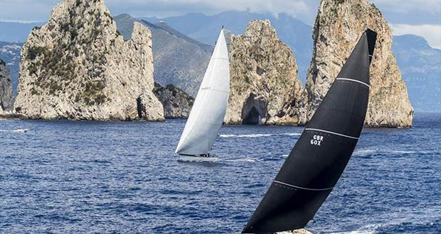 Inside track pays for Vesper passing the Favaglioni - Rolex Capri Sailing Week © Rolex / Studio Borlenghi