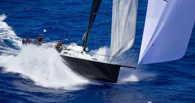 The high-speed conditions that require strong sails: Bretwalda at speed - Transpac 50 - photo © Sharon Green / Ultimate Sailing