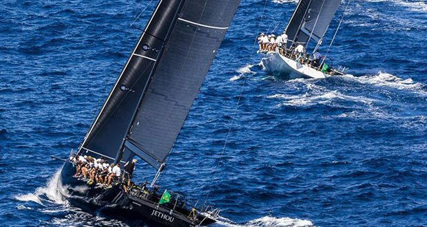 The Maxi 72s, including the very latest example Hap Fauth's Bella Mente, are this year competing in the Mini Maxi Racer 1 class at the Maxi Yacht Rolex Cup