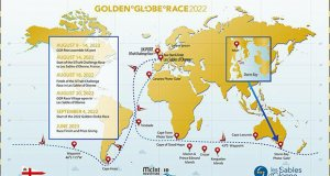 Golden Globe Race chart 2022 final - photo © Don McIntyre