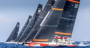Practice Race - Audi 52 Super Series Sailing Week Porto Cervo © Nico Martinez / 52 Super Series