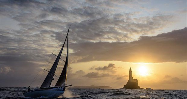Earendil, Sail no: FRA145, Class: Class40, Owner: Catherine Pourre, Sailed by: Catherine Pourre - Rolex Fastnet Race 2019 © Kurt Arrigo
