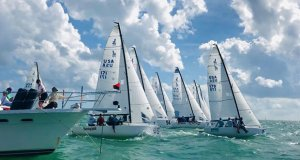 Bacardi Invitational Winter Series in Miami day 1 © Kathleen Tocke