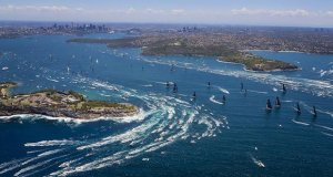 The start of the Rolex Sydney-Hobart Race 2018 © Craig Greenhill - Salty Dingo