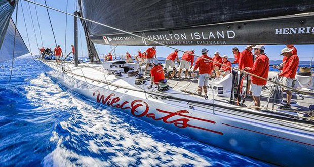 Wild Oats XI competing at Hamilton Island Race Week © Salty Dingo