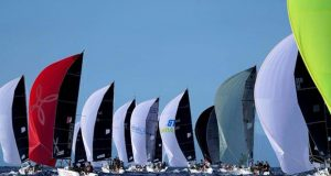 Melges 24 fleet completes two other races that contribute to define the ranking for tomorrow's grand finale - 2019 Melges 24 World Championship © Pierrick Contin / IM24CA
