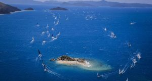 The rounding marks are islands, not buoys, at Hamilton Island Race Week. - photo © Craig Greenhill – Salty Dingo