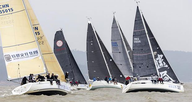 IRC start. Macao Cup International & GBA Cup Regattas. - photo © Guy Nowell