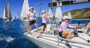 Not a Diamond, sailed by Linda Gorrie and her all-female crew, will be back at Hamilton Island in August for Race Week 2020. - photo © Craig Greenhill / Salty Dingo