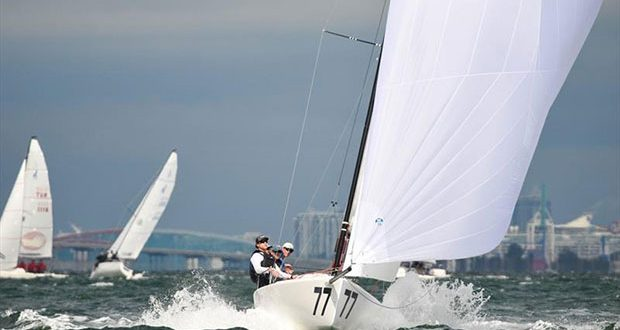 2020 J 70 Midwinter Championship - Day 1 ©Christopher Howell
