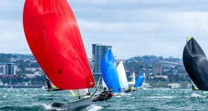Peter Burling and Blair Tuke (NZL) - 2020 49er, 49er FX & Nacra 17 Oceania Championship, day 3 - photo © Drew Malcolm