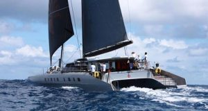 Allegra - provisional winner of the multihull class after MOCRA correction - 2020 RORC Caribbean 600 - photo © Tim Wright / photoaction.com