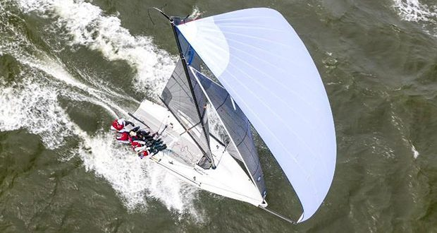 Can't wait to have this downwind ride in Charleston! Melges 24 at the 2019 Sperry Charleston Race Week - photo © CRW / Zerogradinord
