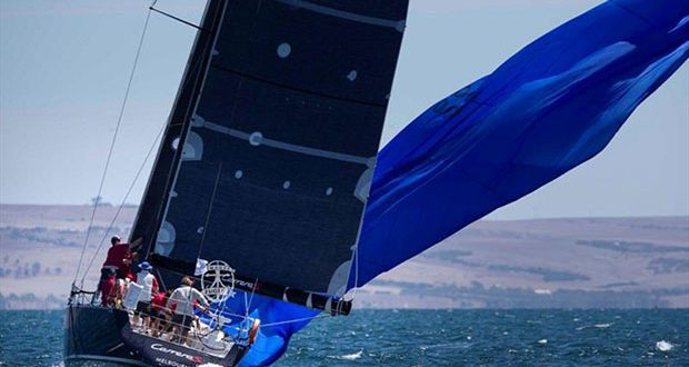 Carrera S with some spinnaker action on Day 2 of Teakle Classic Lincoln Week Regatta 2020 - photo © Bugs Puglisi