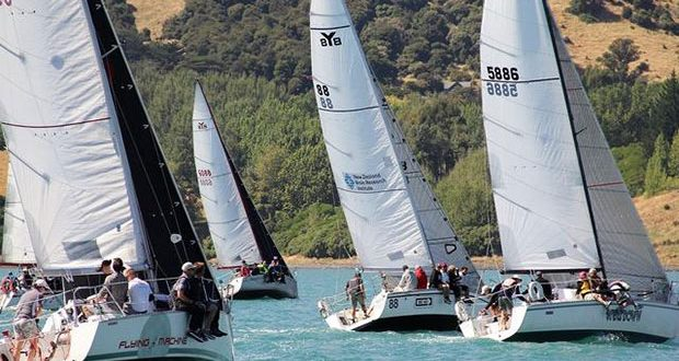 Close fleet racing at last year's regatta © Young 88 Owners' Association