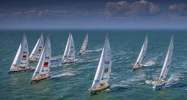 2019-20 Clipper Race fleet © Clipper Race