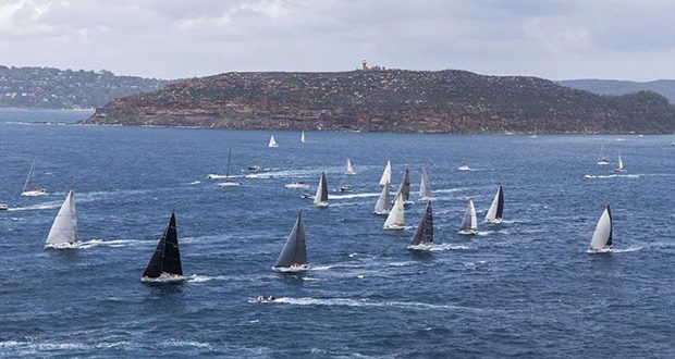 Start of the Pittwater to Coffs Pittwater © Andrea Francolini