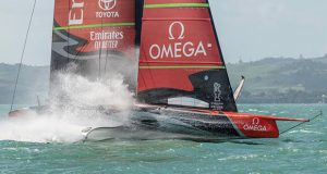 Emirates Team New Zealand expect to have their AC75 Te Aihe back in New Zealand in early-mid June, 2020 © Emirates Team New Zealand