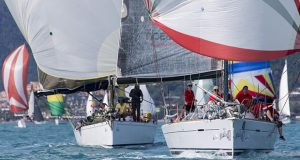 Airlie Beach Race Week 2019 - On the chase down the run - photo © Andrea Francolini