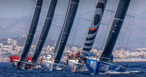 Final day - Rolex TP52 World Championship on Bay of Palma © Nico Martinez / 52 Super Series
