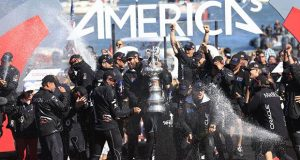 ORACLE TEAM USA win the 34th America's Cup in San Francisco - photo © Gilles Martin-Raget / ACEA